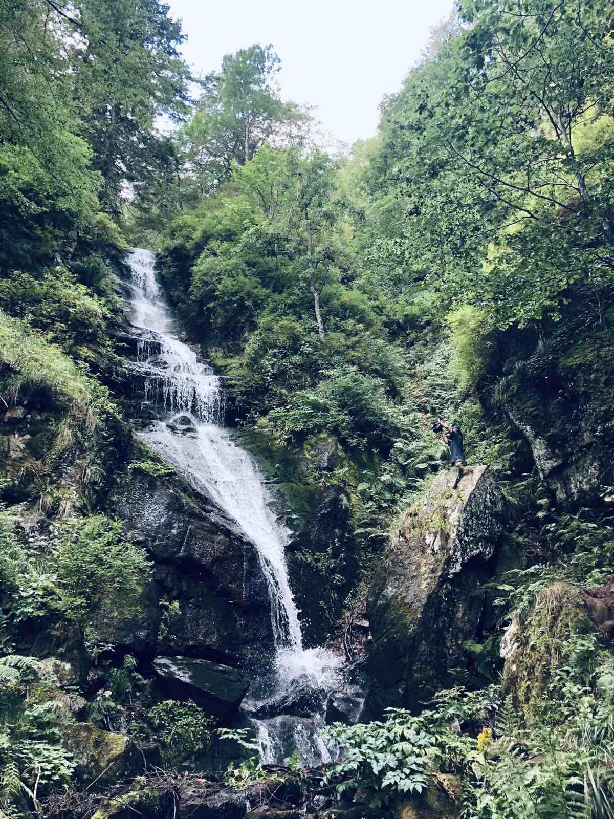 gornji piljski vodopad na staroj planini