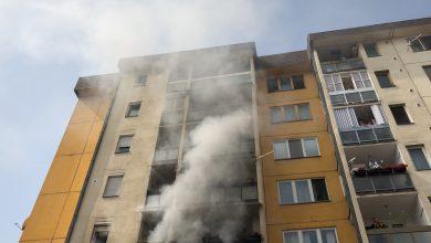 Photo of Požar u Jevrejskoj ulici, izgoreo stan. Herojska intervencija pirotskih vatrogasaca