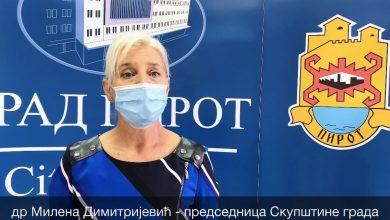 Photo of Poruka dr Milene Dimitrijević Piroćancima povodom aktuelne epidemiološke situacije