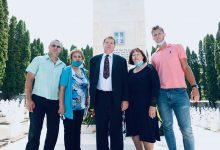 Photo of Treća generacija pirotske porodice Surlandžis stara se o Grčkom vojničkom groblju na Metiljavici