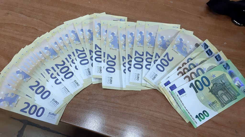 gradina carina policija zaplena evri