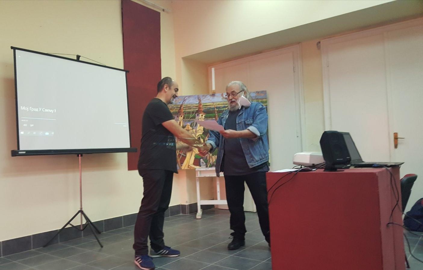 Nagrada za film Priča o višnji u Sremskoj Mitrovici