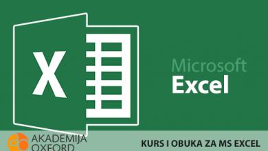 Photo of Brzo i efikasno savladajte osnove, ali i napredne tehnike rada u  MS Office, Word, Excel programima