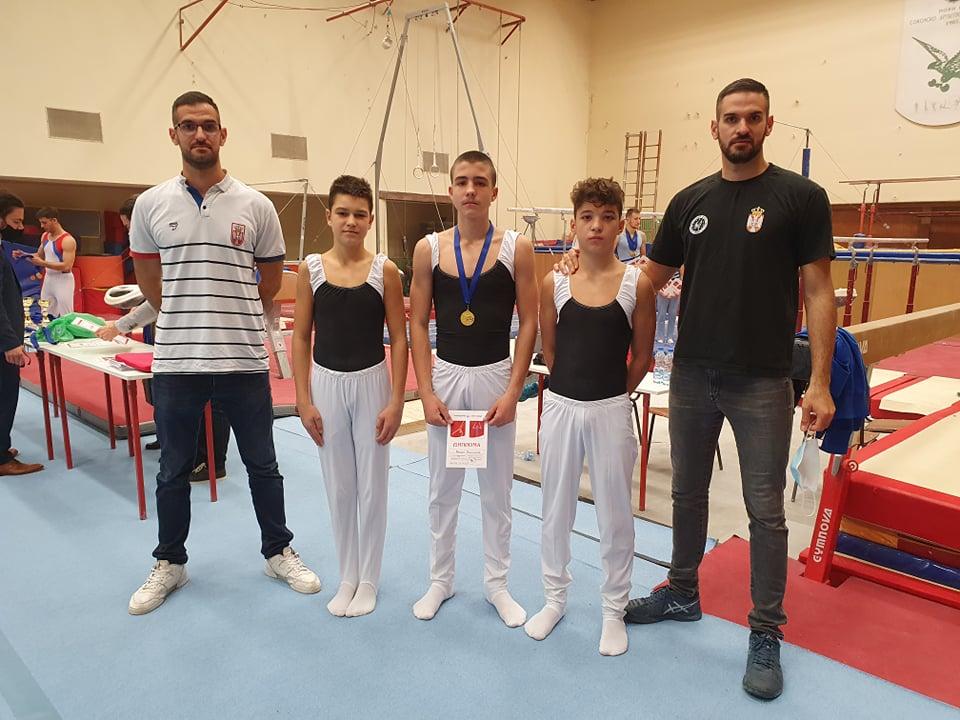 pirotski gimnastičari ostvarili izuzetan uspeh