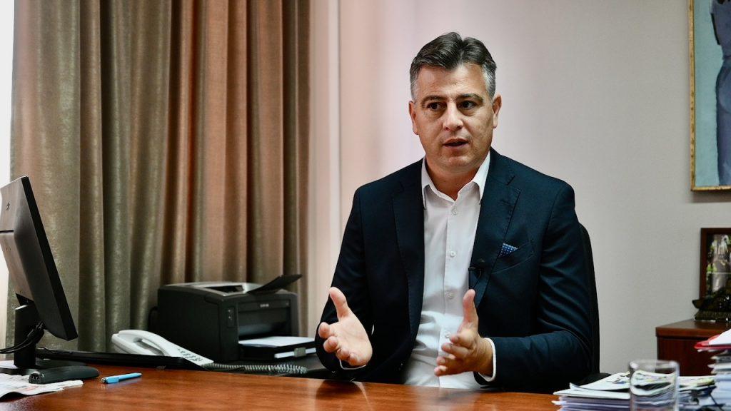Gradonačelnik Pirota mr Vladan Vasić