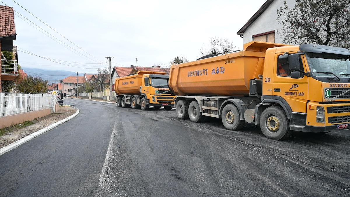 asfaltiranje pirot investicije građevinska sezona