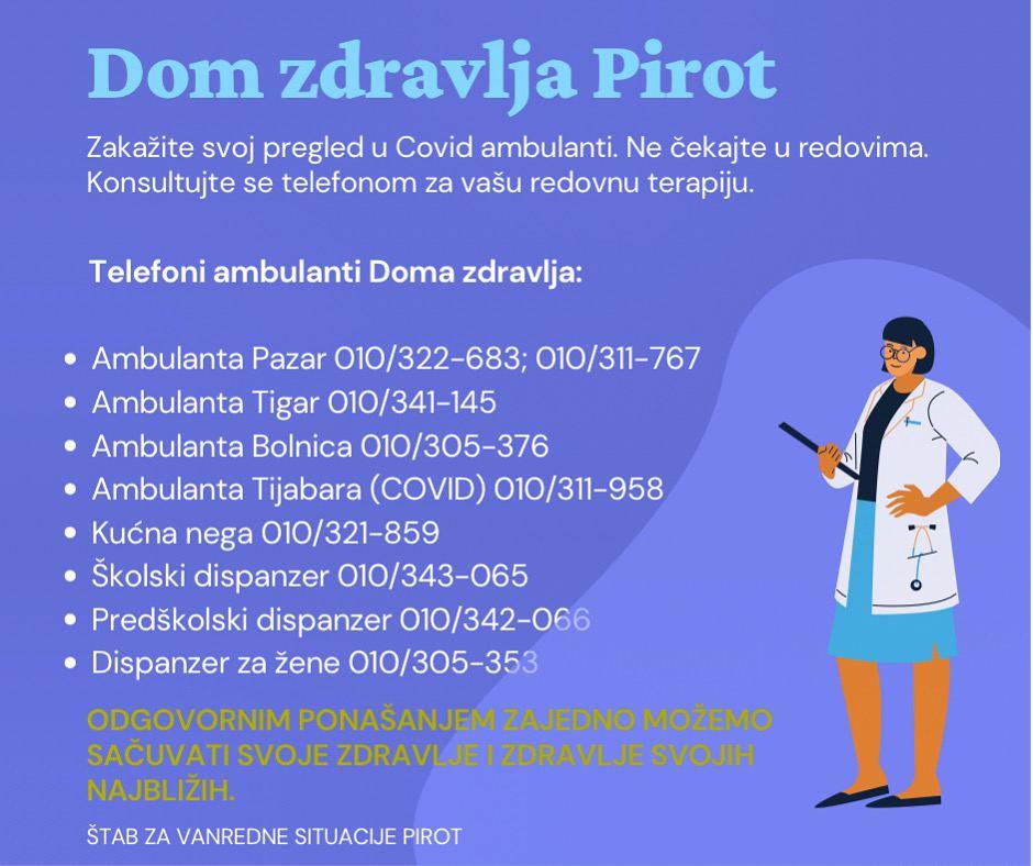 brojevi telefona covid pirot