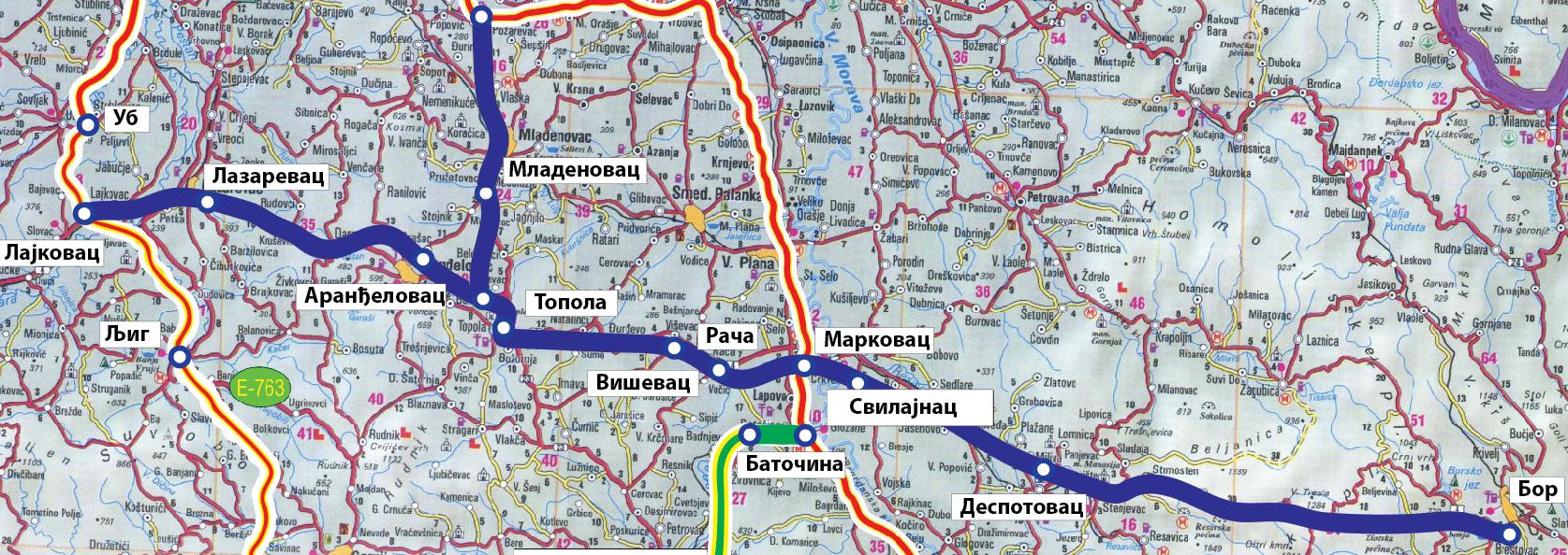 vožd karađorđe spaja istok i zapad srbije