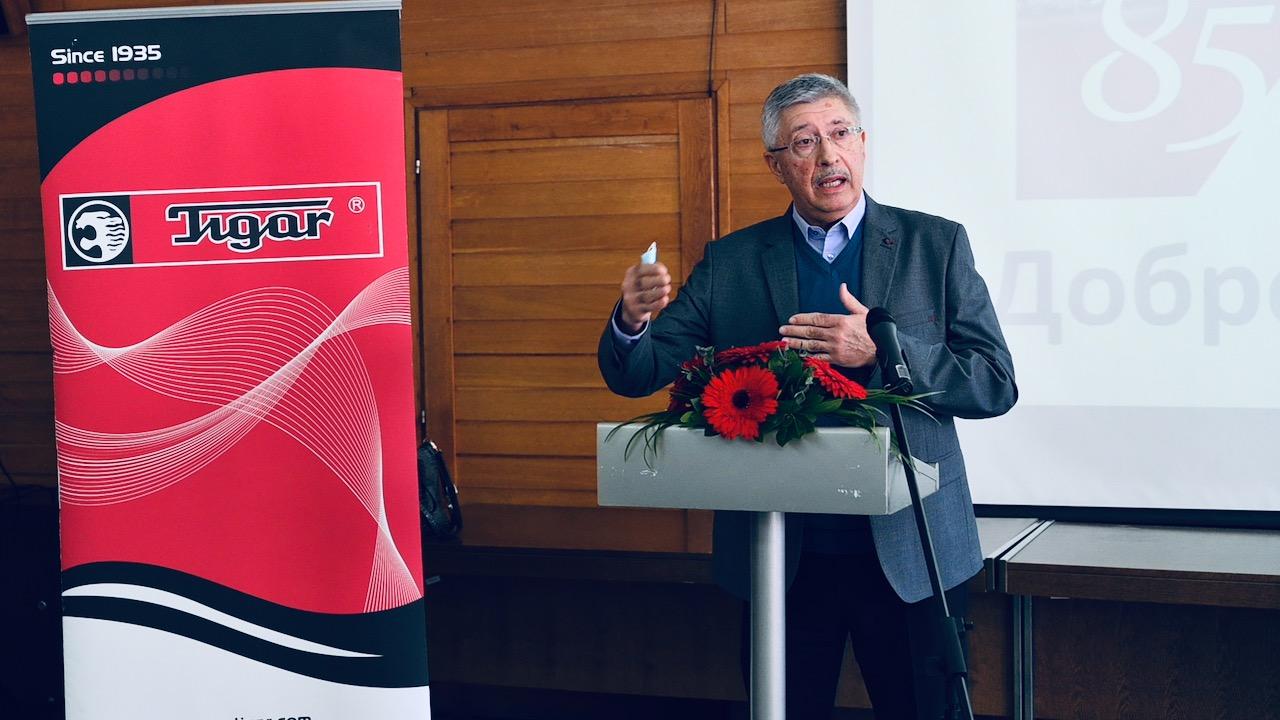 Lider Samostalnog sindikata u Tigru AD Slobodan Petrović
