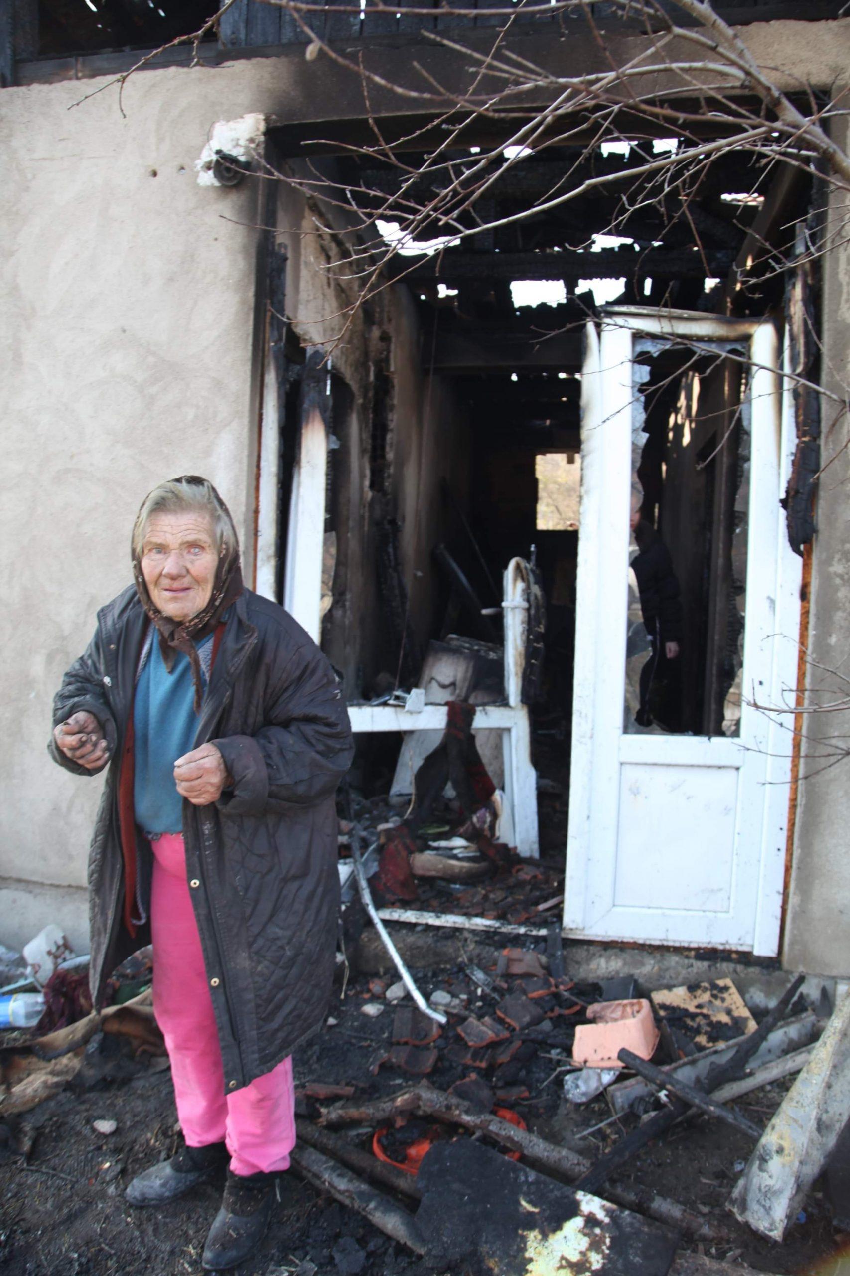 baka jelka aleksić požar