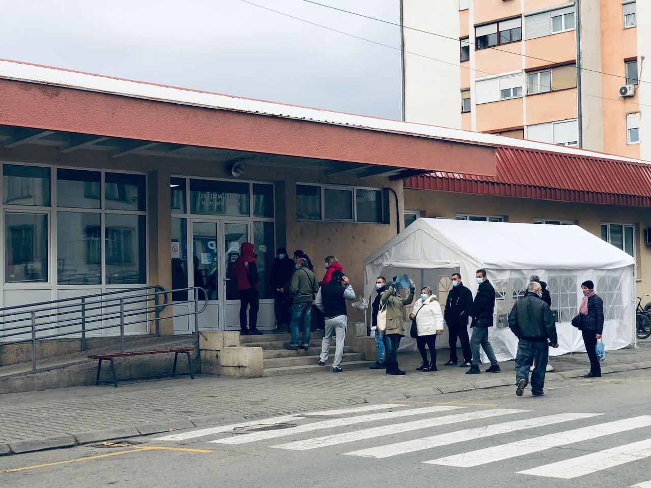 Kovid ambulansa u Pirotu