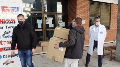 """Photo of """"E. Miroljo"""" poklonio 91 skafander Opštoj bolnici u Pirotu"""