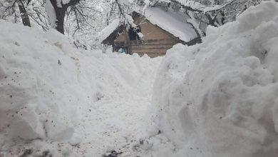 Photo of Palo više od metra snega po babušničkim planinskim selima, pojedina sela bez struje