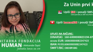 Photo of ZA UNIN PRVI KORAK: Maloj Uni, iz Babušnice, neophodna je pomoć humanih ljudi