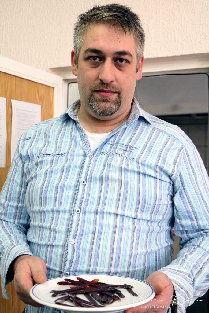 ninoslav stojadinović, proizvođač pirotske peglane kobasice