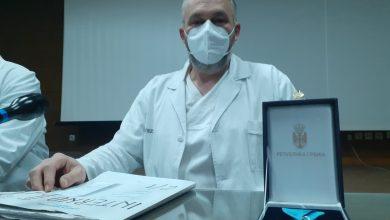 Photo of Dr Jovanović: Ponosim se ukazanim priznanjem, mada je mnogo ljudi koji bi mogli da budu na mom mestu
