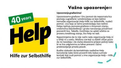 Photo of HELP: Upozorenje gradjanima!