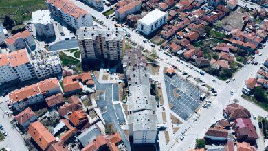 """Photo of Završeno asfaltiranje dvorišta kompleksa zgrada u Senjaku, sledi """"ozelenjavanje"""""""