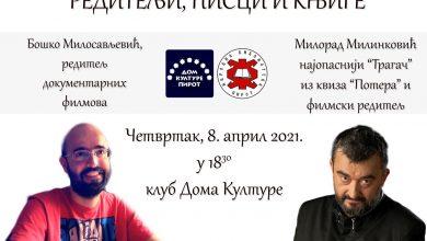"""Photo of Salon knjiga: U četvrtak promocija """"Reditelji, pisci i knjige"""". Gosti Boško Milosavljević i Milorad Milinković"""