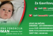Photo of SVI ZA GAVRILA: MOZZART KUPIO TRAKU KRISTIJANA RONALDA I UPLATIO 7.500.000 DINARA ZA LEČENJE MALOG GAVRILA!