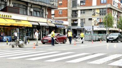 Photo of Obnavlja se horizontalna saobraćajna signalizacija u gradu i naseljenim mestima