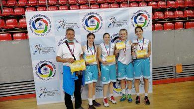 "Photo of Učenice Gimnazije na državnom prvenstvu u basketu ""tri na tri"" u Kragujevcu osvojile drugo mesto"