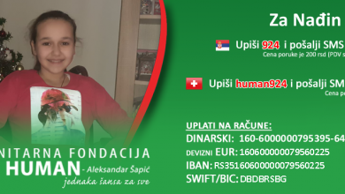 Photo of Maloj Nađi Mitić iz Bele Palanke, koja boluje od anaplastičnog astrocitoma HITNO potrebna pomoć