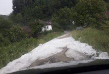 Photo of Nezapamćene padavine grada u babušničkim selima