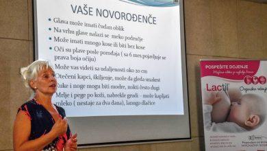 "Photo of Predavanje ""Prvi dani sa bebom – podrška dojenju"" pobudilo veliko interesovanje"