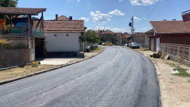Photo of Asfaltira se ulica Đure Jakšića u naselju Prčevac