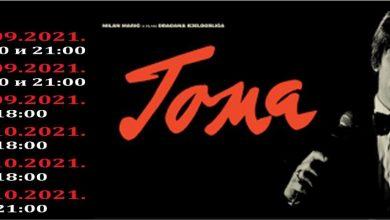 """Photo of Nezapamćeno interesovanje: Film """"Toma"""" u bioskopu Doma kulture i od 4. do 6. oktobra"""