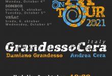 """Photo of Poslastica za ljubitelje muzike u Pirotu – """"Sax on tour""""  nastupaju italijanski muzičari Damiano Grandeso i Andrea Cera"""