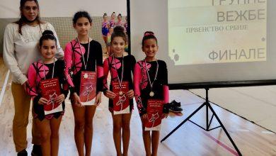 Photo of Pirotske ritmičke gimnastičarke uspešne u Svilajncu
